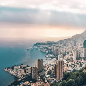 Beautiful sightseeing picture of Monaco